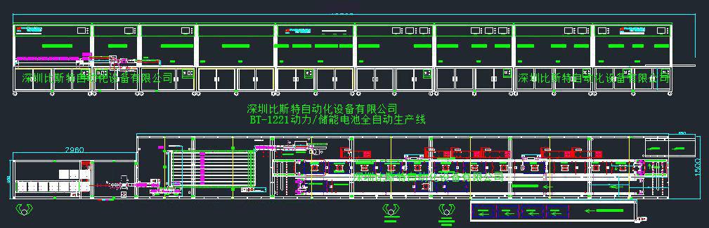 BT-1221动li/chu能电池zu生产线