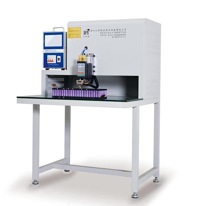 BT-550D-8000A圆柱电池气动点焊ji